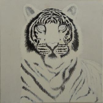 acryl op canvas 50 x 50