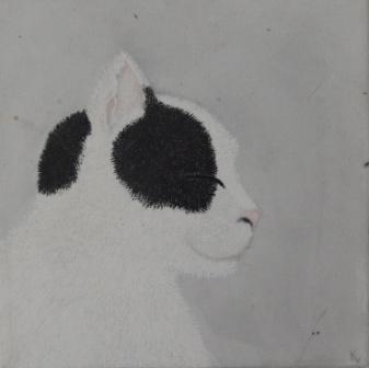 acryl op canvas 25 x 25