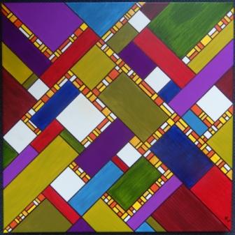 acryl op canvas