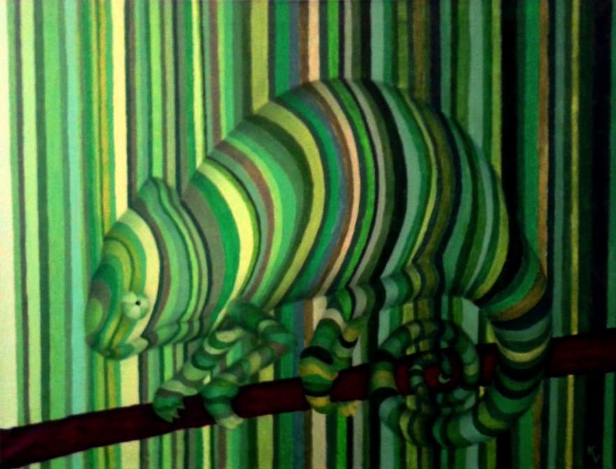 acryl op canvas 80 x 60