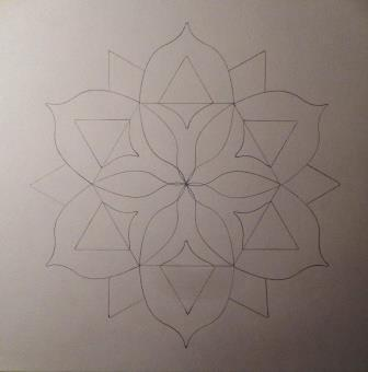 pen op papier 30x30
