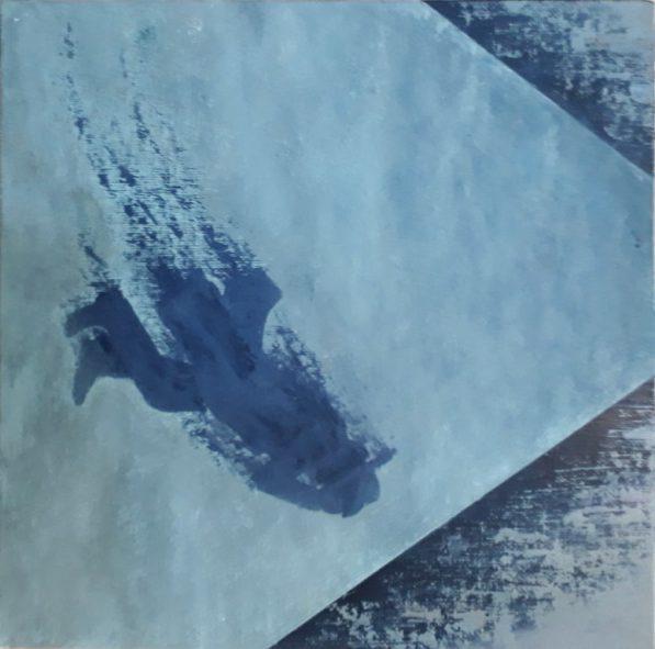 acryl op canvasboard 24x24