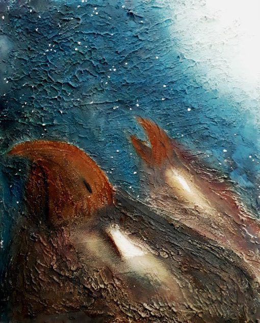 acryl op canvasboard 30x24