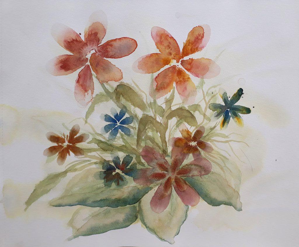 aquarel op papier 30x40