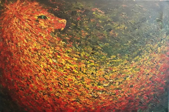 acryl op canvas 40x60