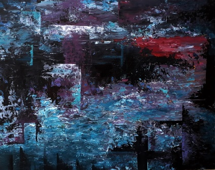 acryl op canvasboard 24x30