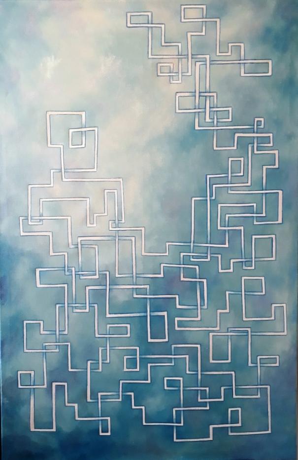 acryl op canvas 75x115